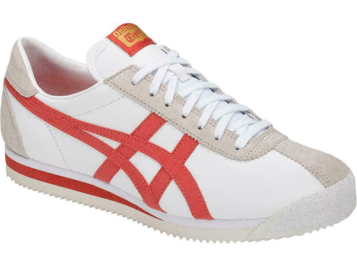 Onitsuka Tiger Corsair Unisex Weiß Leather Trainers - Mexico 66 Also In Stock