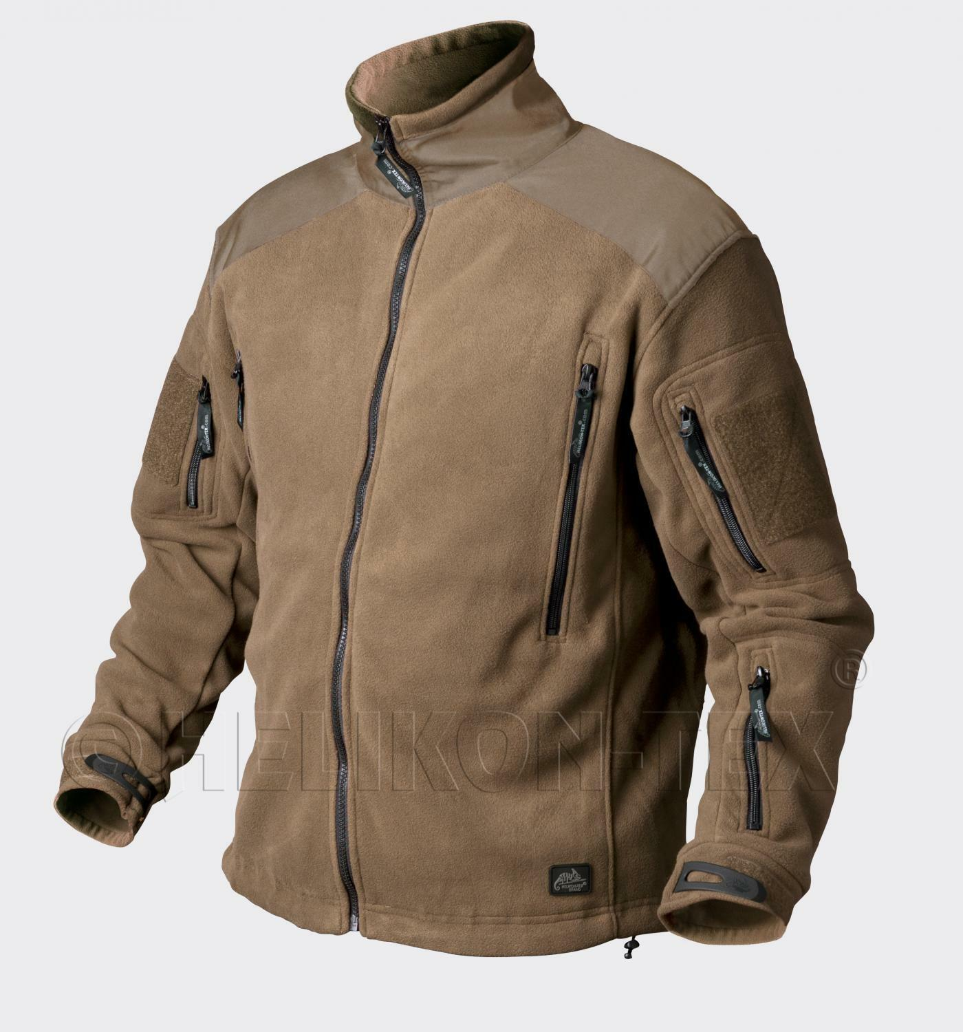 HELIKON TEX  LIBERTY HEAVY FLEECE Outdoor Jacket JACKE Coyote Tan Small