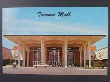 Tacoma Washington WA Shopping Mall Color Chrome Postcard 1960s