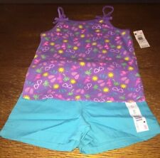 NWT Unicorn Girls Purple Short Sleeve Ruffle Lace Dress 18 M 2T 3T 4T 5T