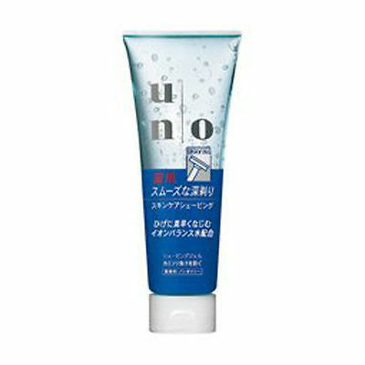 SHISEIDO uno Medicinal Shave Gel 165ml from Japan