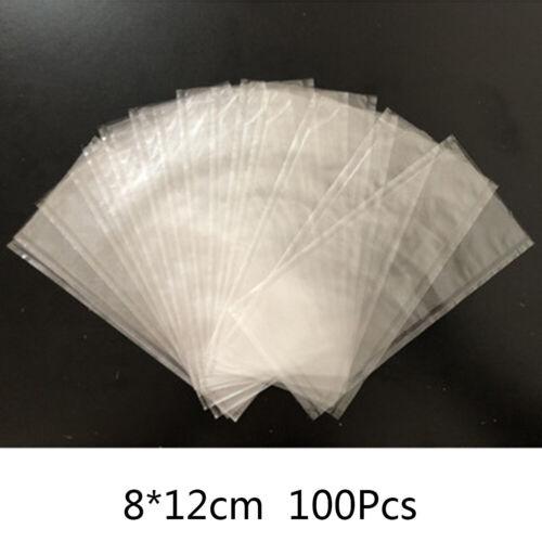 100X Zubehör Wasser Lösliche Sack Pva Köder Netz Ködertasche Karpfen Grobfischen