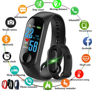 Smart-Bracelet-M3-Bluetooth-Sport-Fitness-Trackers-Impermeable-IP67-Montre
