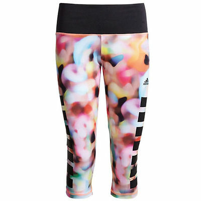 Adidas Infinite Series Techfit Tight Damskie 3/4 Pants Training Pants S12119
