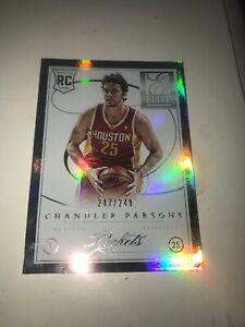 2012-13-Elite-Series-Basketball-Chandler-Parsons-Rookie-Card-247-249