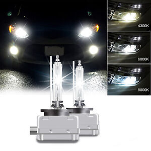 35W 2PCS FOR D1S HID Xenon Headlight Light 6000K bulbs OEM Factory Replacement