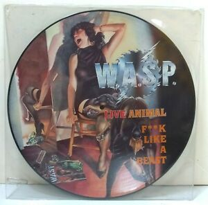 W-A-S-P-Live-Animal-F-k-Like-A-Beast-lt-P-gt-12KUT-PICTURE-DISC