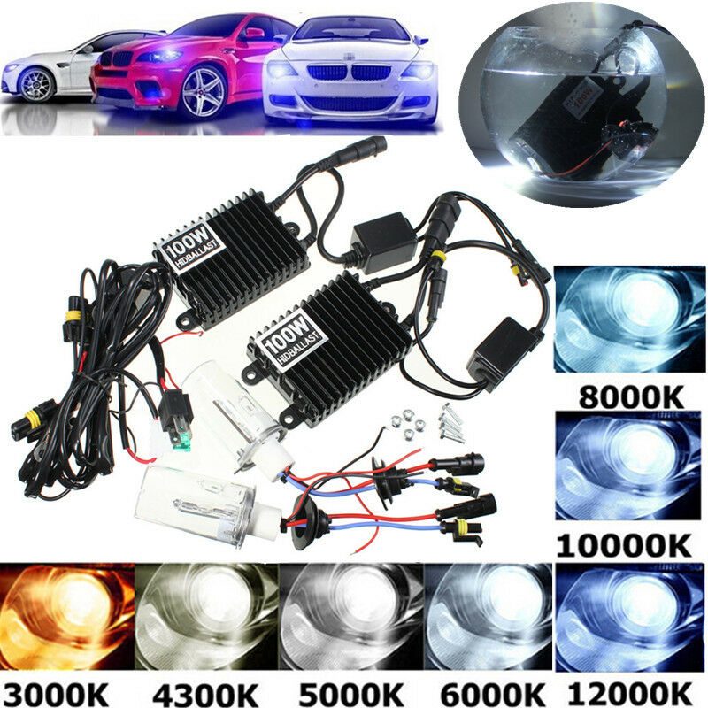 75W 100W CAR HID KIT AC Ballast H1 H3 H4 H7 H8 H9 H11 9005 9006 Xenon