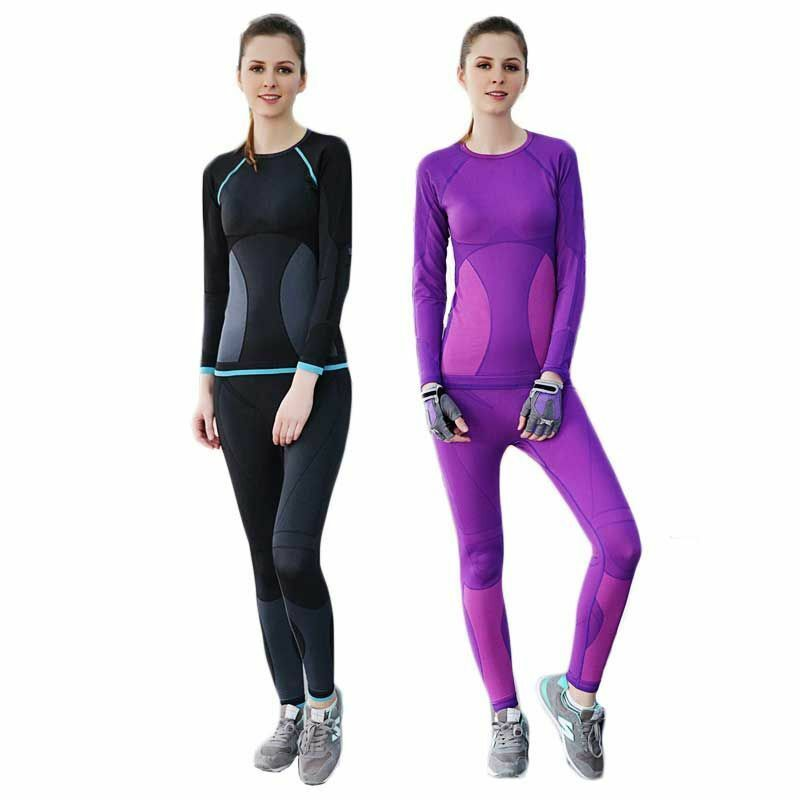 Sports Ladies Inner Wear Thermal Warm Spandex Suitable For Exercise And Gym Suit