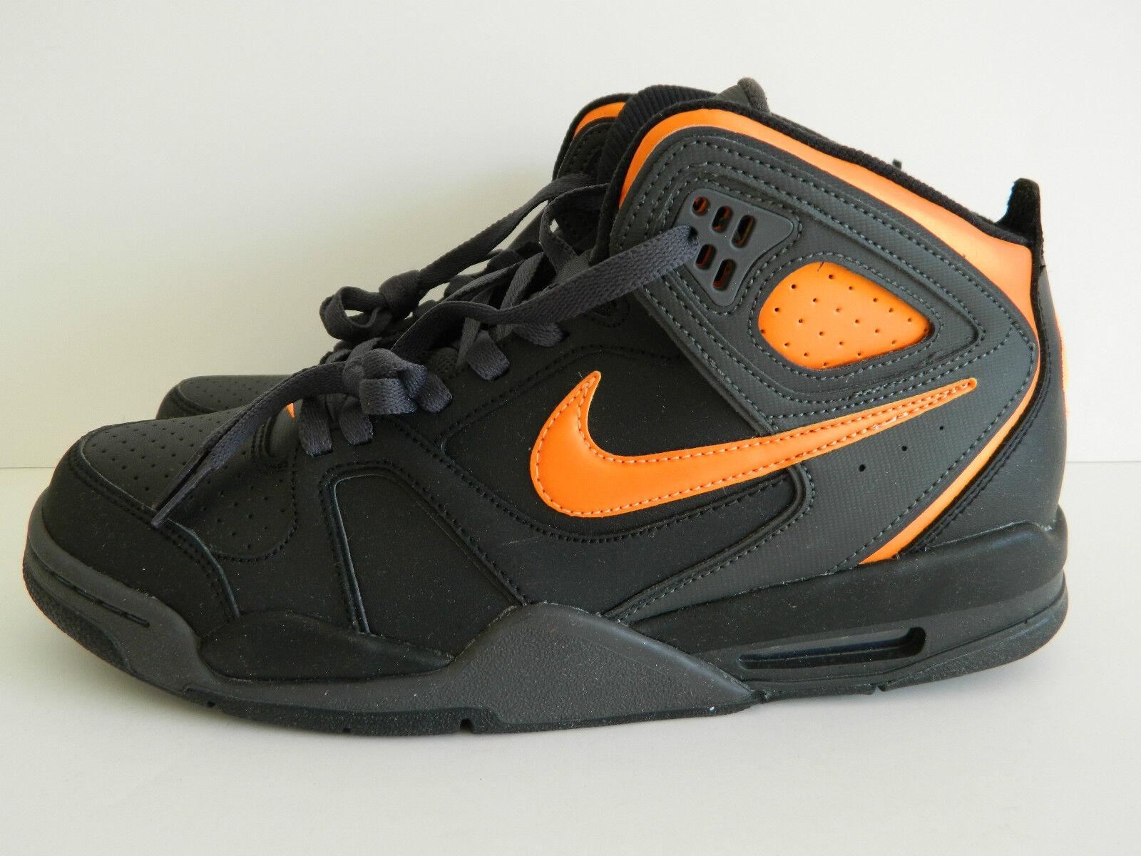 Nike Air Flight Falcon ( Black and Bright Citrus ) ( 397204 080 )