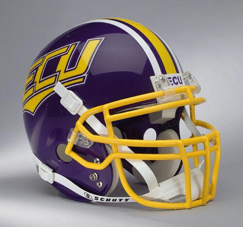 EAST CAROLINA PIRATES NCAA Schutt XP Full Size AUTHENTIC Gameday Football Helmet