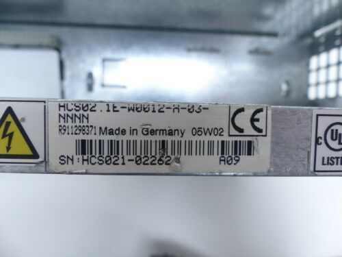 Rexroth Indradrive C Servo Drive HCS02.1E-W0012-A-03-NNNN Top Zustand