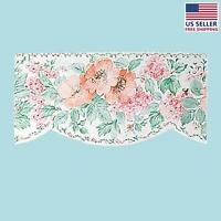 Wallpaper Border Peach/green Scalloped Nylon | Renovator's Supply on sale