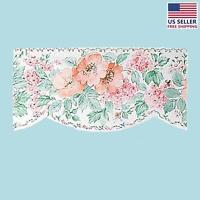 Wallpaper Border Peach/green Scalloped Nylon | Renovator's Supply on sale