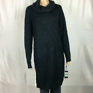 New-Tommy-Hilfiger-Iconic-Turtleneck-Sweater-Dress-Womens-L-NWT