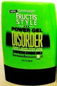 Garnier-Fructis-Style-Disorder-Power-Gel-Messy-24Hr-Ultra-Strong-Hold-9-2-PACK