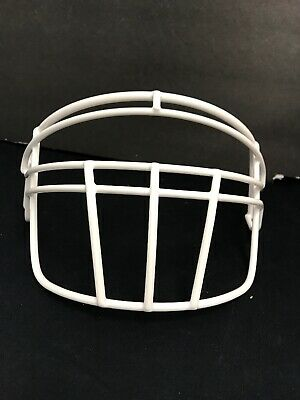 Vintage Football 2 Bar Helmet Facemask Grey Usa Made 70s//80s Rare Football Mask