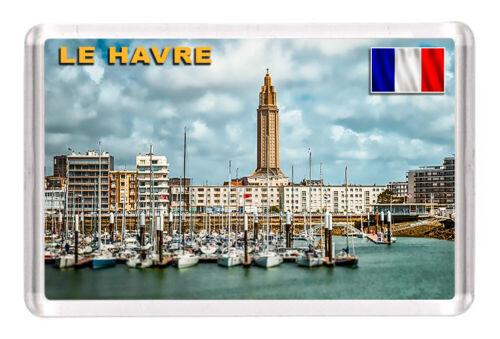 """Details about  /Le Havre France Fridge Magnet Travel Souvenir 3/""""x2/"""""""