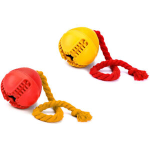 Dog Jolly Ball ,Ball Rubber Chewing Interactive Dog Toy Super Tough Tooth C X4D7
