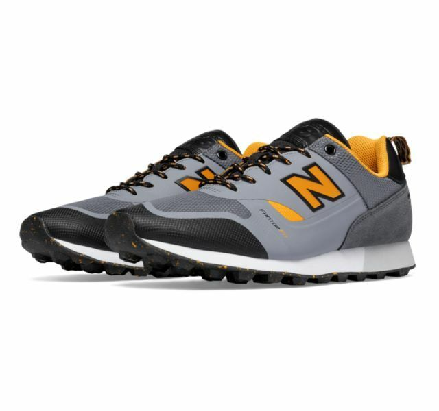 New! Uomo New Balance Trailbuster Re-Engineered Hiking  Shoes - grey