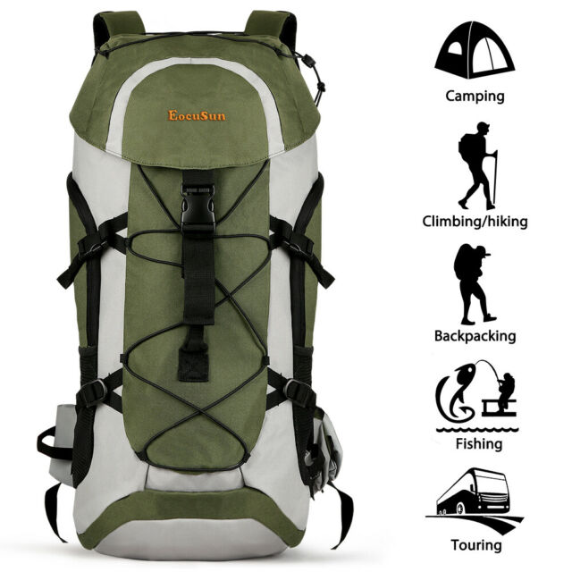 50L Outdoor Sports Backpack Camping Bag Hiking Rucksacks Military Tactical Pack