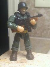 LEGO / MEGA BLOKS Call of Duty 06862 PLATOON PATROL FIGURE #4 With Tommy Gun