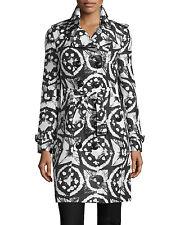 Burberry Sandringham Long Tie-Dye Faille Trenchcoat (Size USA 6/ UK 8)