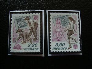 Monaco-Stamp-Yvert-and-Tellier-N-1686-1687-N-A22-Stamp