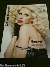 TELEGRAPH MAGAZINE - CHRISTINA AGUILERA - MAY 8 2010