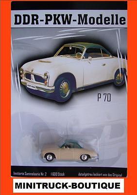 DDR-PKW-Modelle (Nr. 2) +++ IFA P70 Coupe