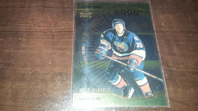 1999-00 Upper Deck UD Gold Reserve Rookie DENIS SHVIDKI #315 SP 1688/2500