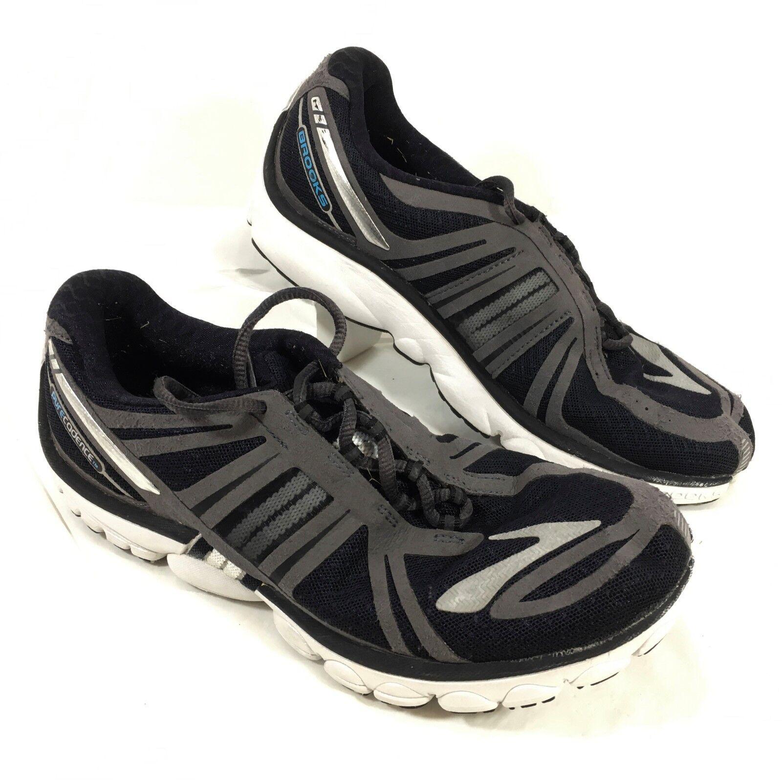 EUC Women's BROOKS Running shoes Black Pure Cadence Sz 9 M