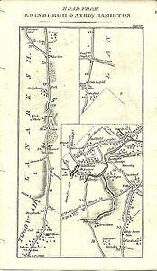 Antique map, Edinburgh to Inveraray (2)