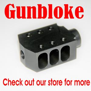 THE TANKER 6,5mm MUZZLE BRAKE Compensator 5 8x24 Creedmoor, -264, Grendel etc.