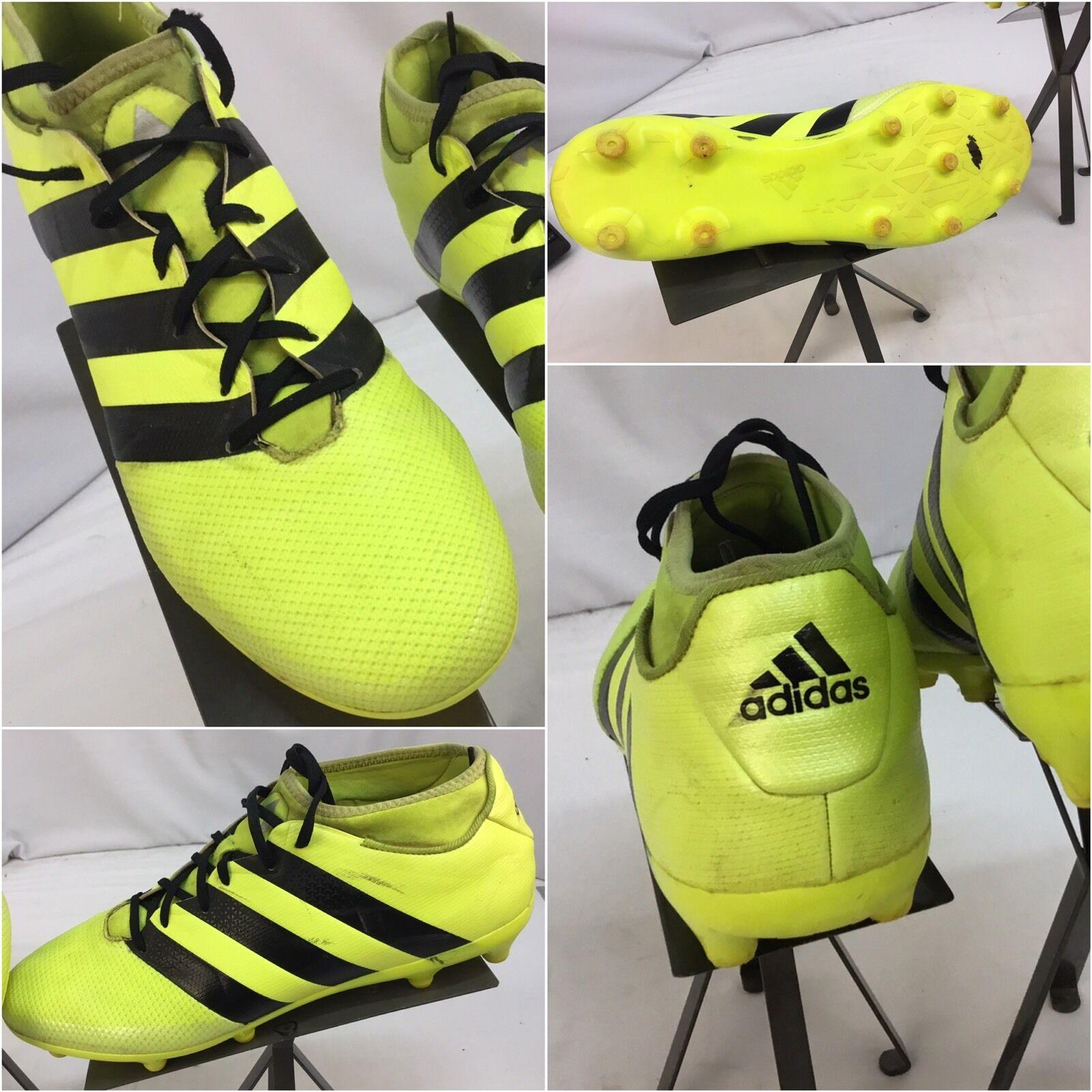 adidas performance as 16,3 sz stollenschuhe 12,5 männer gelben neon stollenschuhe sz euc ygi f7 2773ec