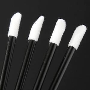 Disposable Lip Gloss Wands Lipstick Brushes Makeup Applicator Spoolers UK SALE