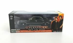 WB Show Supernatural Sam Dean Car Scale Chevrolet Impala - Supernatural show car