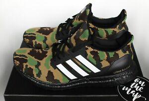 Details zu Adidas x Bape Ultra Boost Green Camo Superbowl SB UK 5 7 8 9 10 11 12 US New