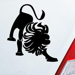 aufkleber sternzeichen l we lion auto motorrad sticker lkw kfz roller folie 651 ebay. Black Bedroom Furniture Sets. Home Design Ideas