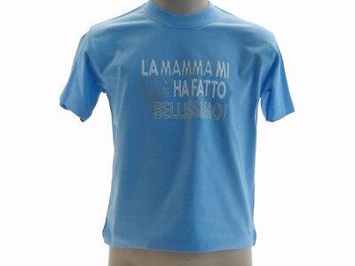 Abbigliamento E Accessori Responsible T-shirt La Mamma Mi Ha Fatto Bellissimo Bambino Color Baby Umoristiche Giallo Bambini 2 - 16 Anni