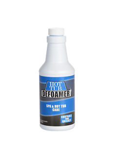Spa and Hot Tub Defoamer - Quickly Takes Foam Down - 16 Ounce Pint