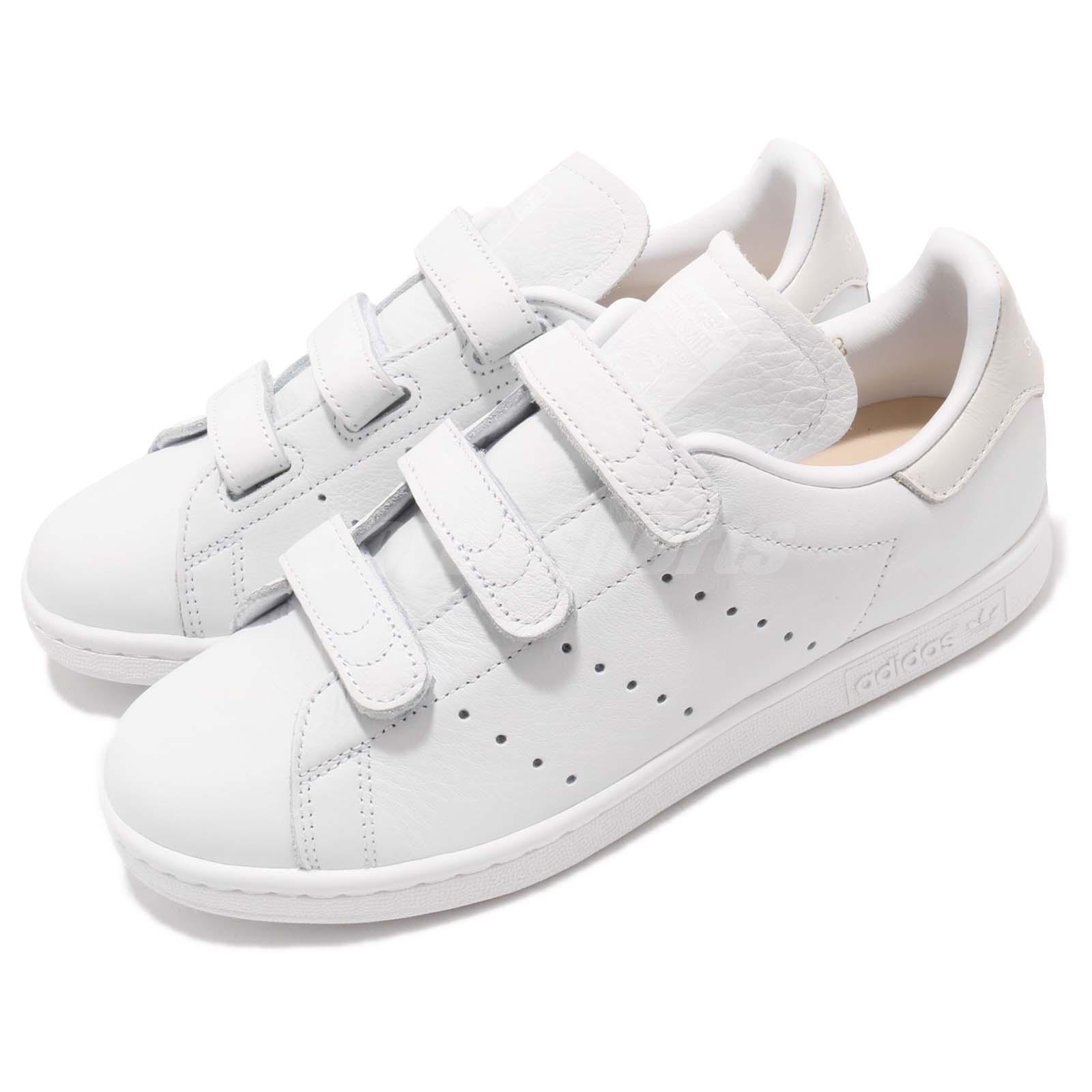 adidas Originals Stan Smith CF Straps Cloud White Men Women Shoes Sneaker CQ2632