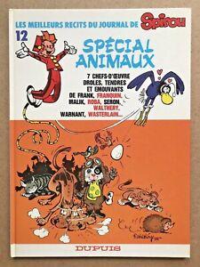 Les-Meilleurs-Recits-du-Journal-de-SPIROU-12-Special-ANIMAUX-EO-1986-Franquin