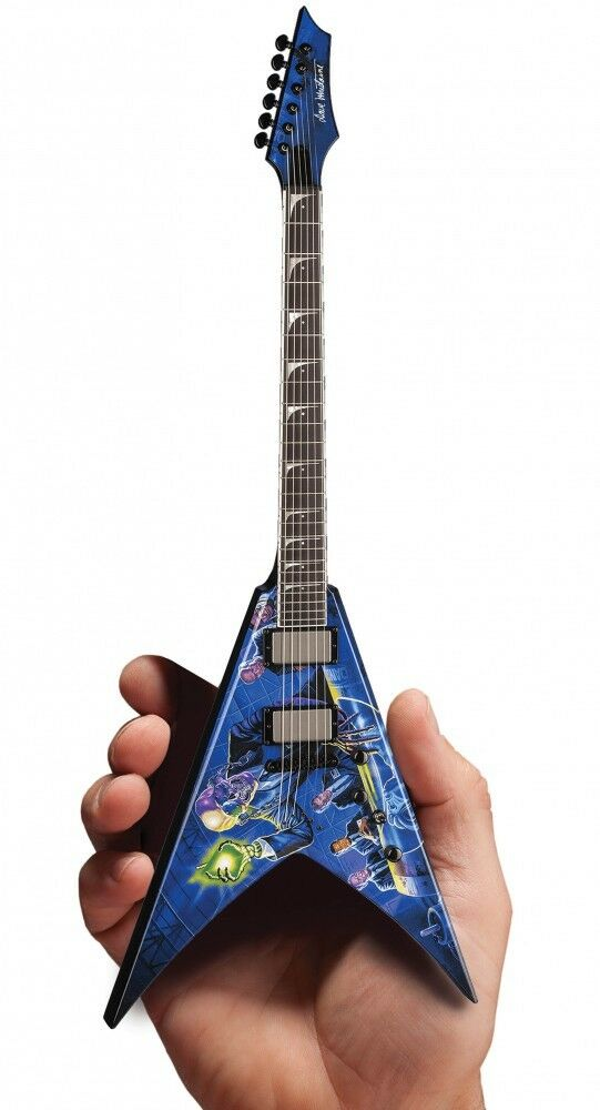 Megadeth Rust in Peace Officially Licensed Miniature Guitar Replica 000252424