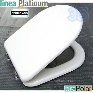 Sedile Tavoletta Water Ideal Standard Esedra Anima Legno Marca Acb Platinum Ebay