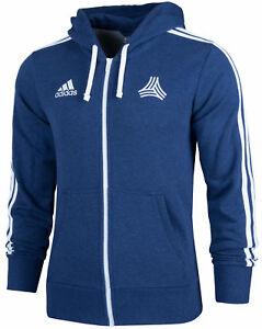 Details zu Adidas TC Tango Herren Sweatjacke Kapuzenjacke Trainingsjacke 3 Streifen Jacke
