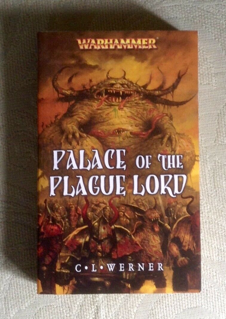 Palace of the Plague Lord Warhammer novel C L Werner 2007 1st edition PB OOP VG