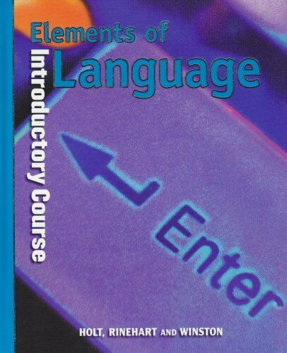 Elements of Language, Grade 6, Introductory Course