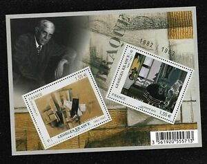 Bloc-Feuillet-2013-N-F4800-Timbres-France-Neufs-Georges-Braque