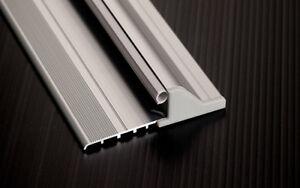 Soglia in alluminio antipioggia domatic per porte e for Costo finestre alluminio
